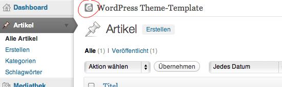 WordPress Dashboard-Logo austauschen