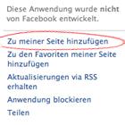 facebook-link-verschwunden