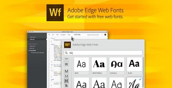 Adobe Webfonts