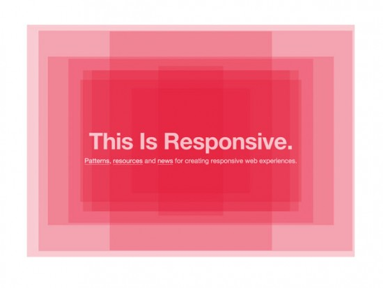 "Website von ""This is responsive"""