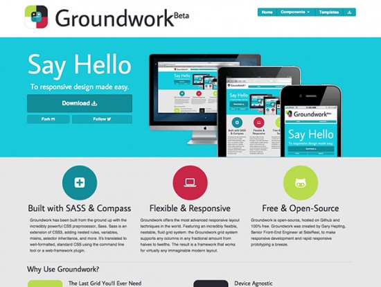 Screenshot von Groundwork