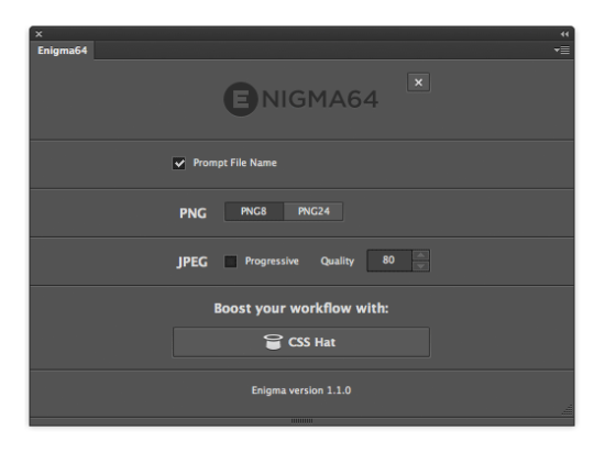 PNG8- und PNG24-Export in Enigma24