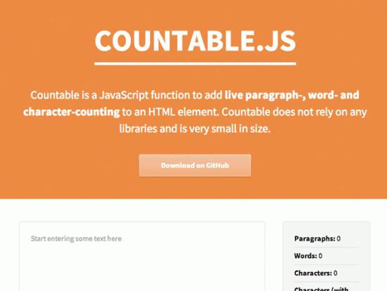 Wörter, Buchstaben und Absätze per JavaScript zählen