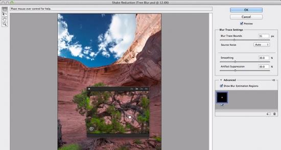 """Verwackelungseffekte können in Photoshop CC mit einem neuen Filter entfernt werden – Bildquelle: <a href=""""http://www.youtube.com/watch?v=03k8XqALcNg"""" target=""""_blank"""">Adobe</a>"""