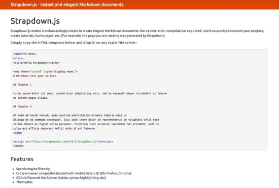 Schnell zur Micro-Website mit JavaScript und Bootstrap