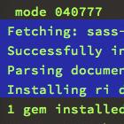 sass-terminal