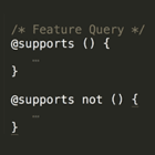CSS Feature Query