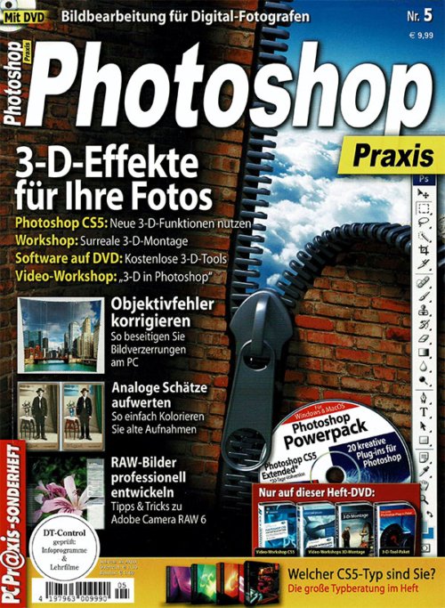 Cover Photoshop Praxis Nr. 5