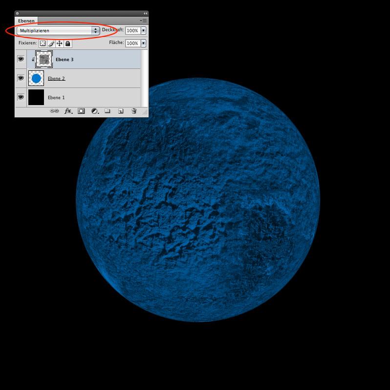 Photoshop-Tutorial: fiktiver Planet