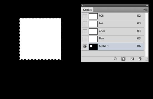 Photoshop-Trick: Abgerundete Ecken mit Alphakanal