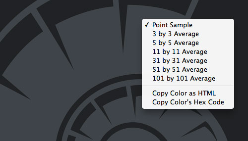 HexCode/HTML-Code in Photoshop CS5