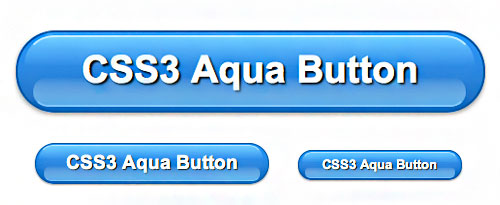 CSS3 Aqua Button