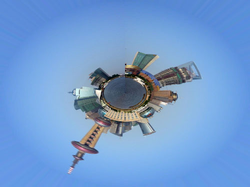 Photoshop Mini Planet