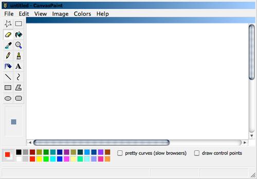 HTML5 Canvas Paint