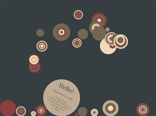 HTML5 Ball Demo