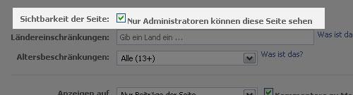 fanpage-unsichtbar-schalten-administratoren
