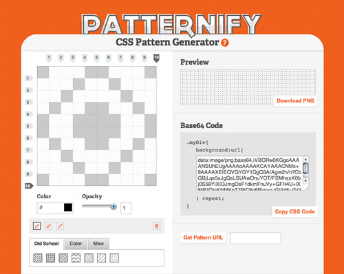 css-pattern-patternify