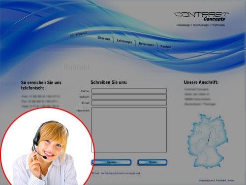 contrast-webdesign-stock