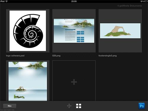 Dateiverwaltung in Adobe Nav