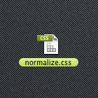 normalize-css-file