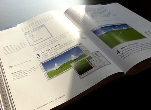 Modernes Webdesign mit CSS - Seitenansicht