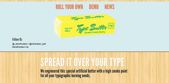 Type Butter
