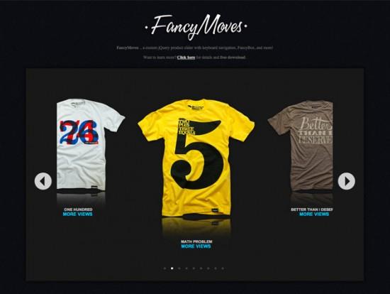 Screenshot von FancyMoves