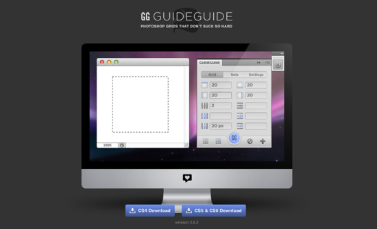 Guide Guide Photoshop-Plugin