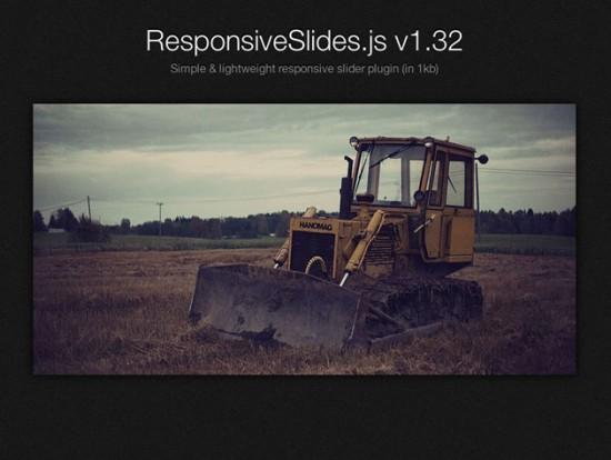 Website von ResponsiveSlides.js