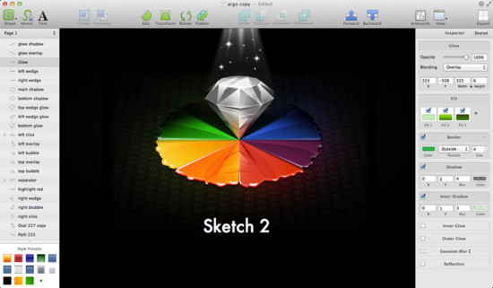 Screenshot von Sketch 2 - Quelle / Copyright: Sketch