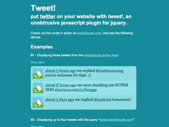 Screenshot von Tweet!