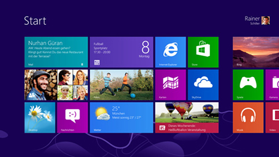 Metro-/Modern-UI-Stil in Windows 8
