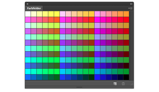 Websichere Farben in Photoshop CS6