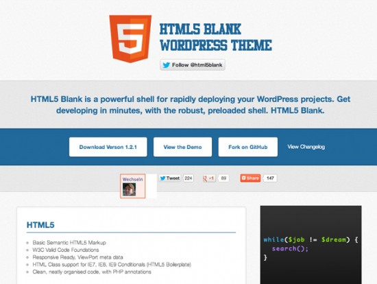 HTML5 Blank WordPress-Theme