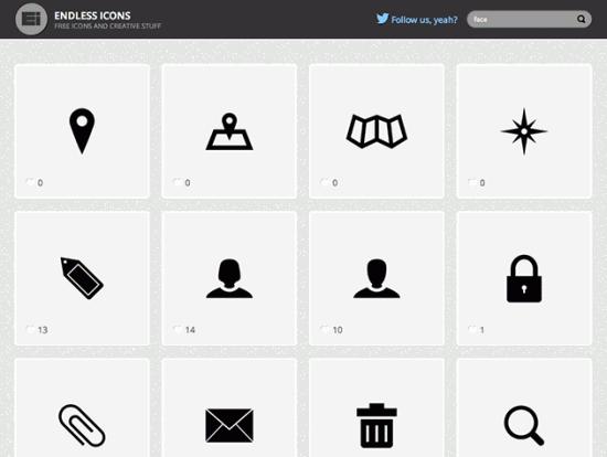 Screenshot von Endless Icons