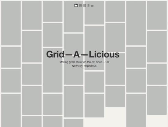 Screenshot von Grid-A-Licious