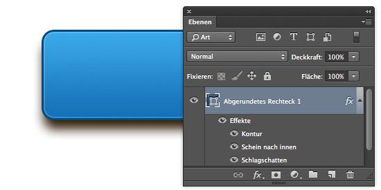Testebene für den CSS-Export von Photoshop