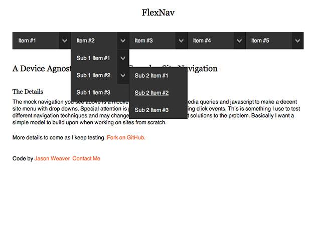 FlexNav im Einsatz