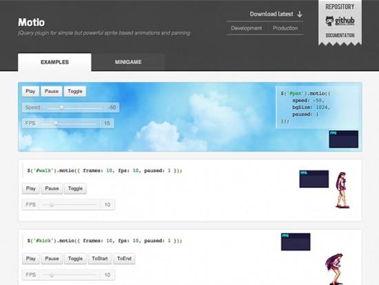 Screenshot von Motio