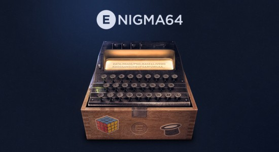 Enigma64 Icon und Logo