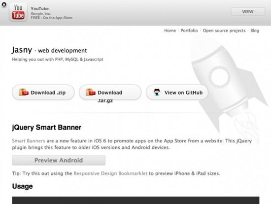 Smart App Banners für Android nachrüsten