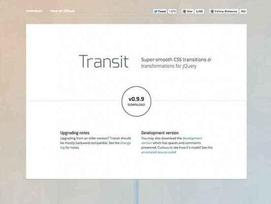 jQuery und CSS Transitions und Animationen