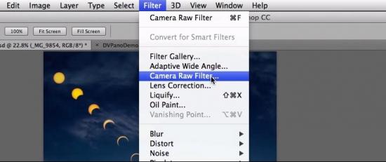 """Camera Raw-Funktionen stehen in Photoshop CC als Filter zur Verfügung – Bildquelle: <a href=""""http://www.youtube.com/watch?v=03k8XqALcNg"""" target=""""_blank"""">Adobe</a>"""