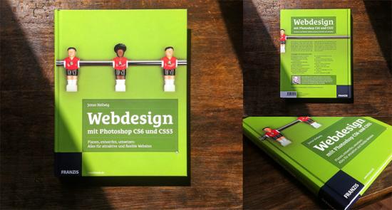 Webdesign mit Photoshop CS6 und CSS3