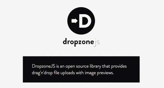 Drag & Drop Dateiuploads mit Dropzone.js