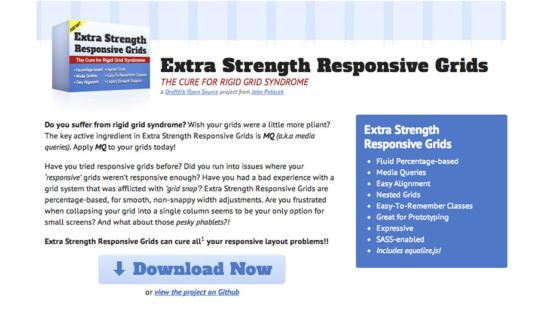 Responsive CSS/SASS-Framework
