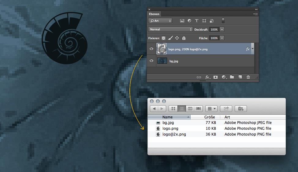 Automatischer Dateiexport mit dem Generator in Photoshop CC