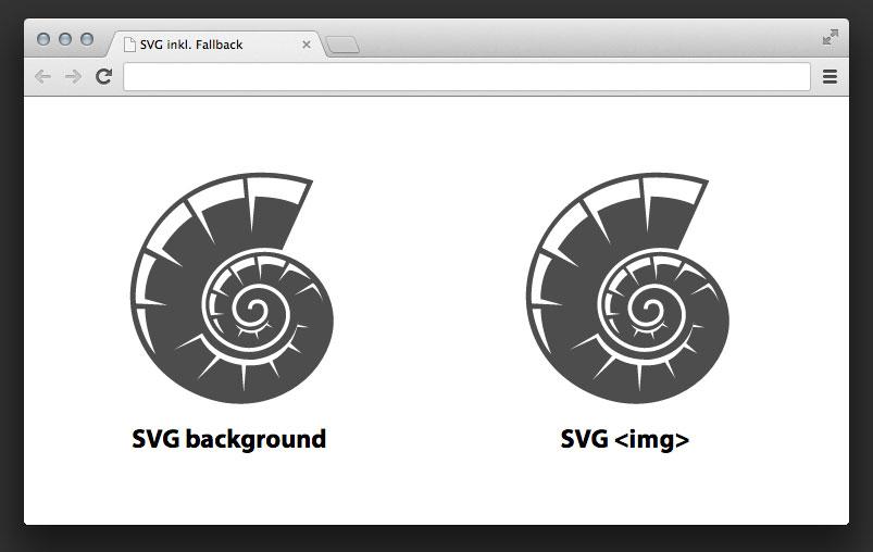 SVG-Grafiken in Chrome