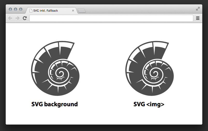 SVG-Grafiken in Chrome