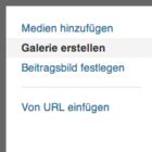 Wordpress Bildergalerie